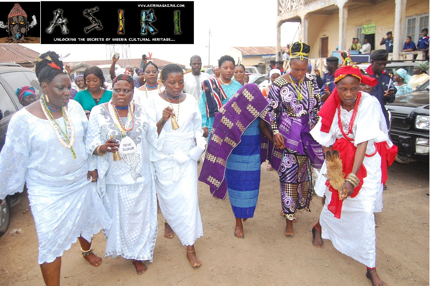 Arugba and Priestess in Procession