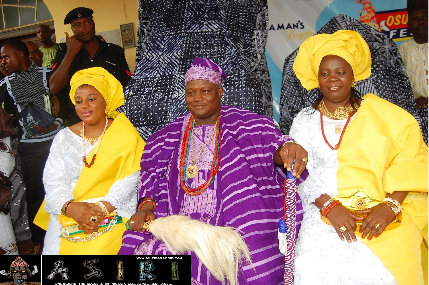 Oba and his wives