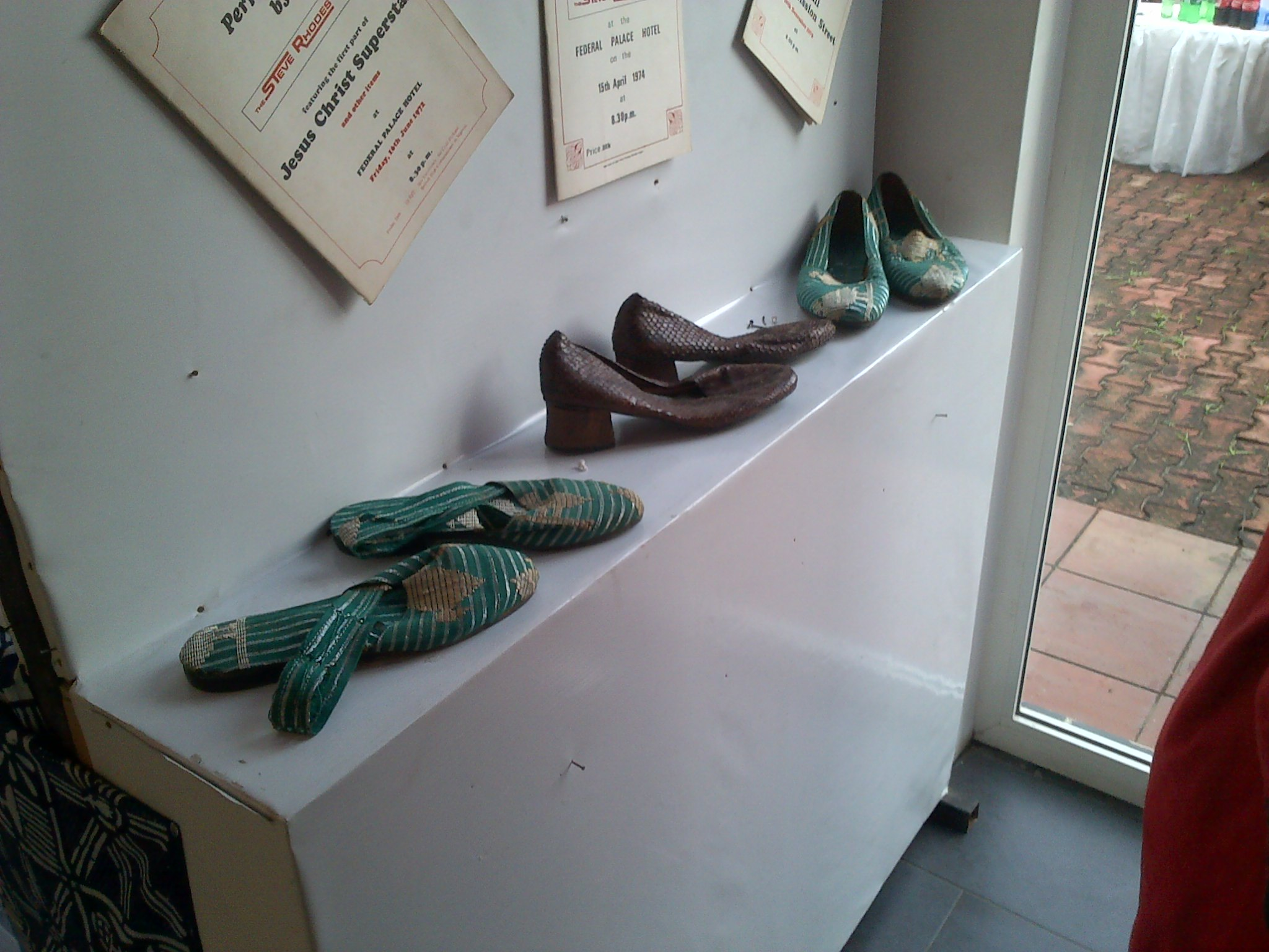 Shoes of the Late Icon