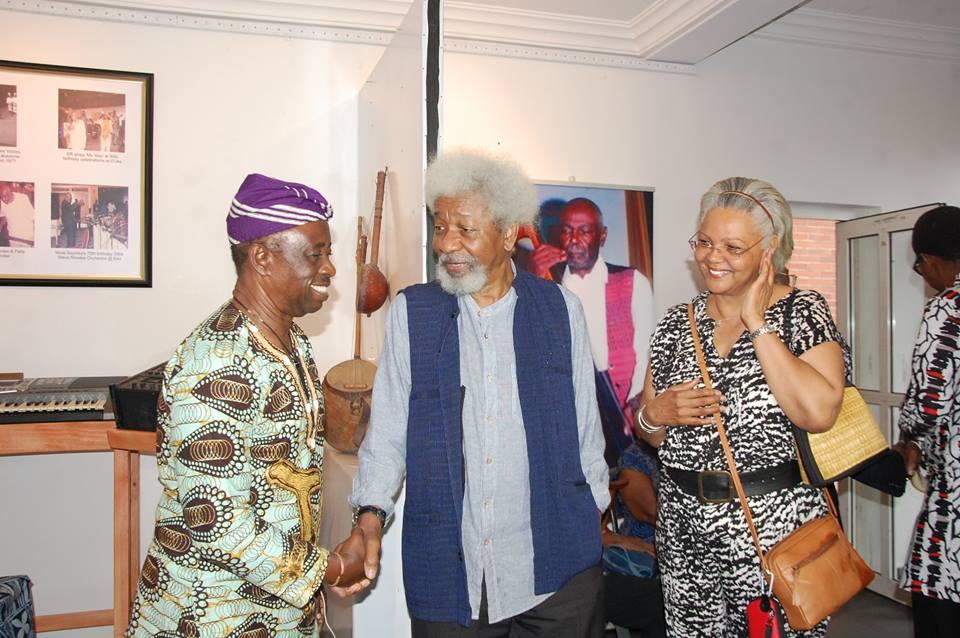 Prof Wole Soyinka and Tunde Kelani