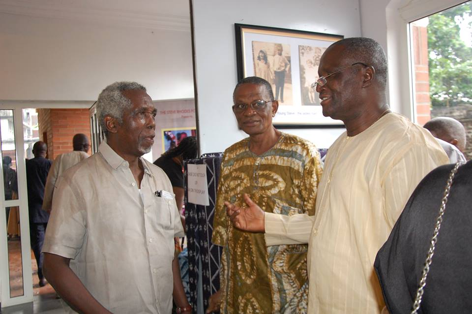 Veterans .. TV Producer, Filmmaker Bayo Awala; Actor, Producer, Tunde Oloyede and Theatre Lighting specialist, Deputy Vice Chancellor University of Lagos, Prof. Duro Oni,