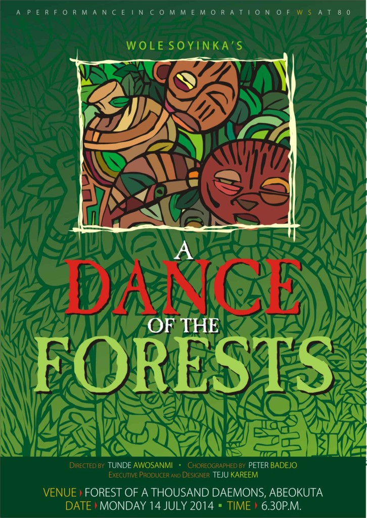 a dance of the forest