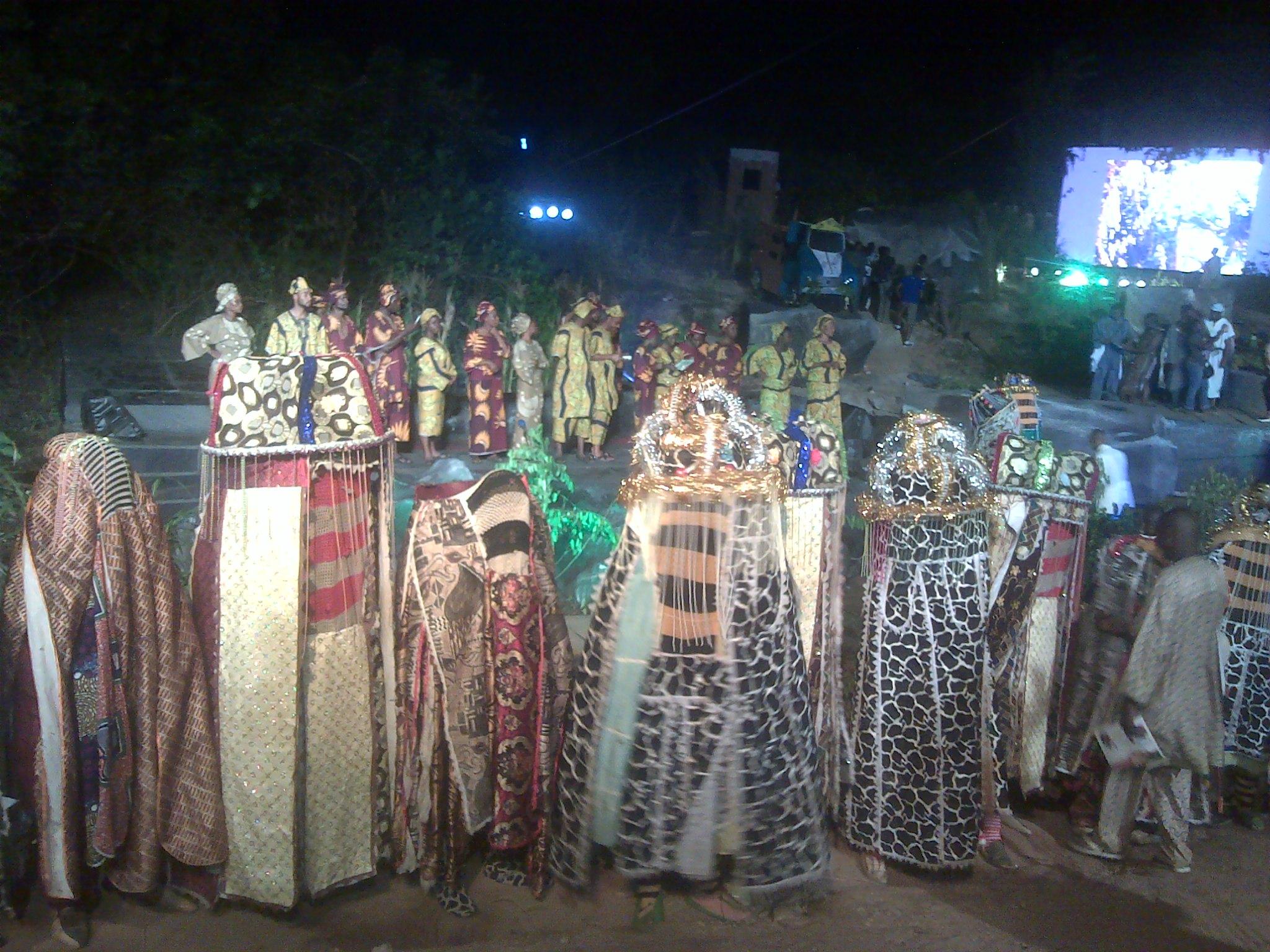 """Even the """"Ara orun"""" Masquerade recognize the Legend of """"Kongi"""""""
