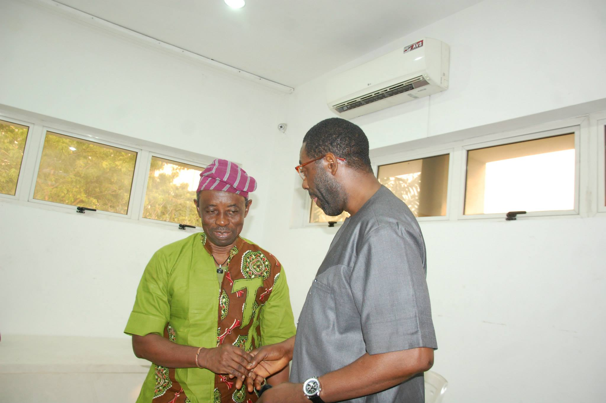 Tunde Kelani and Femi Odugbemi Founder of iREP