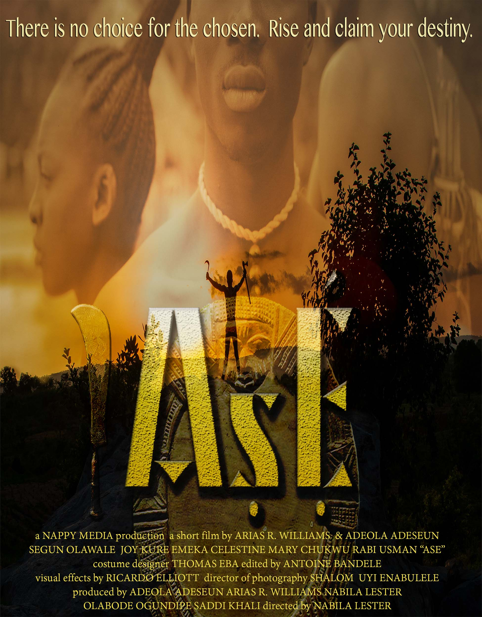Ase Release Poster