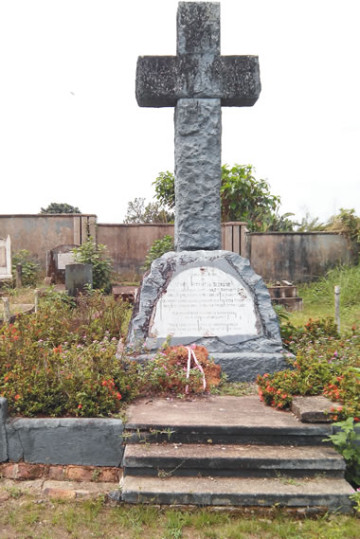 Mary Slessor's Tomb in Calabar