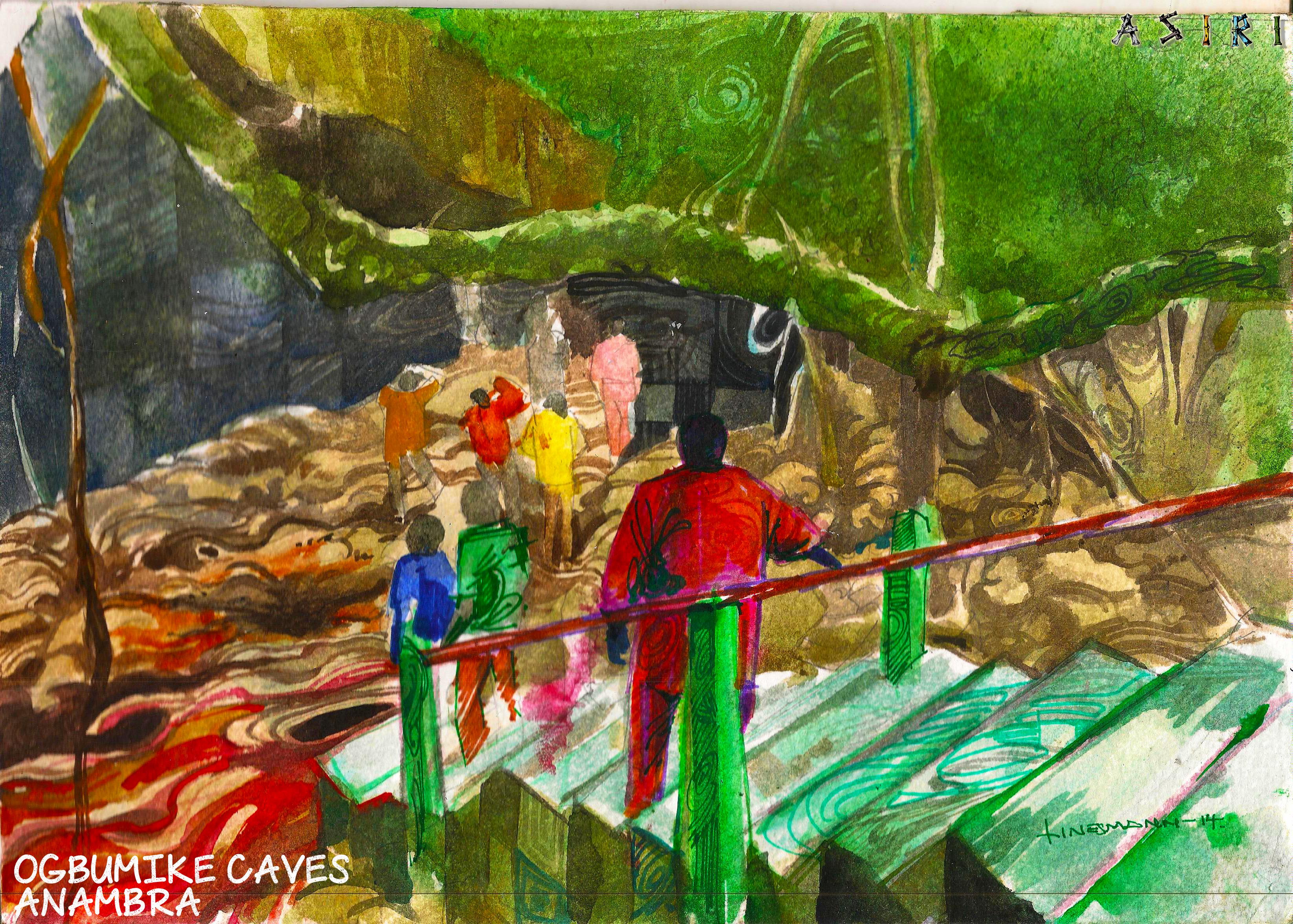 Ogbumike Caves Anambra