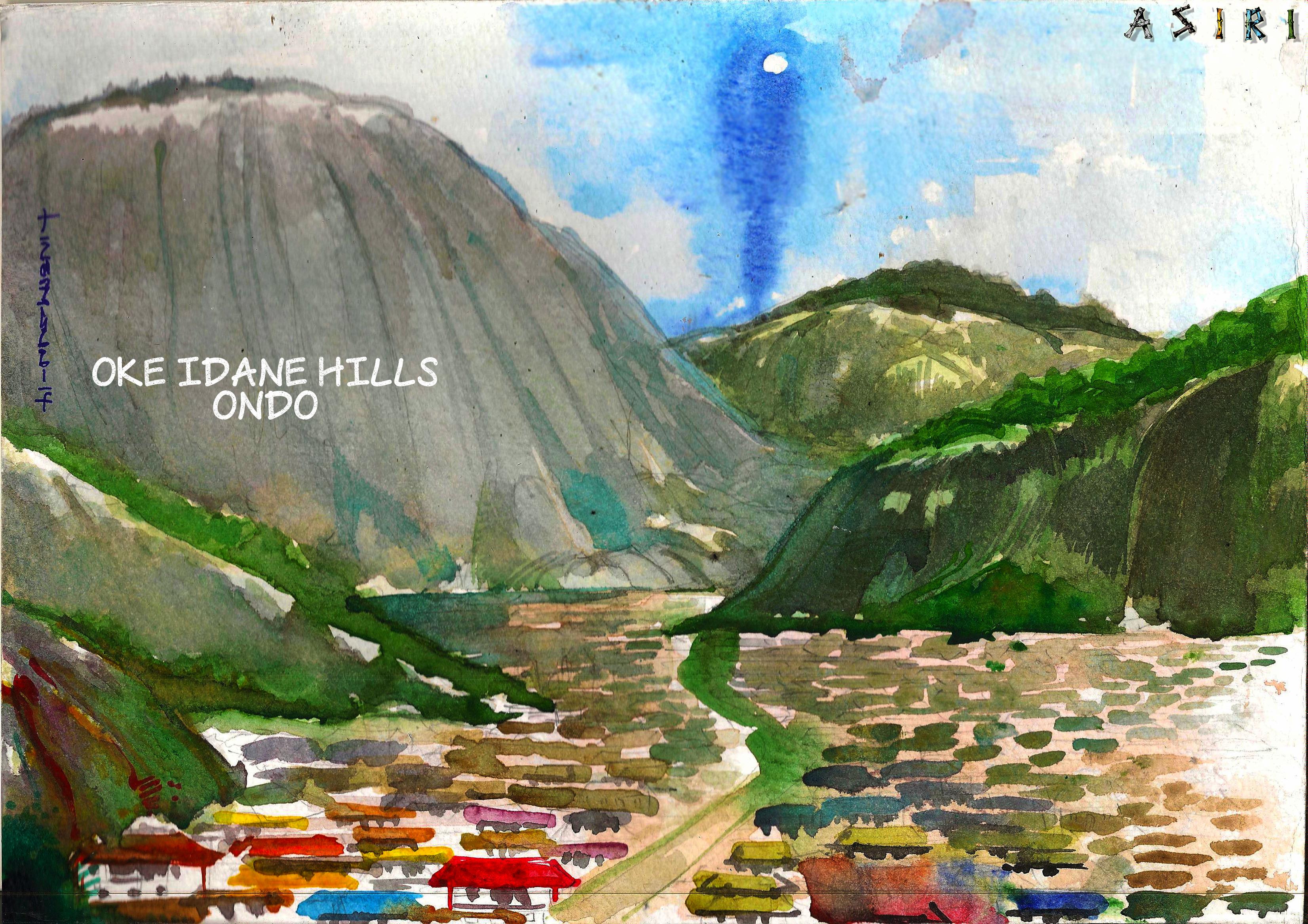 Oke idanre hills Ondo