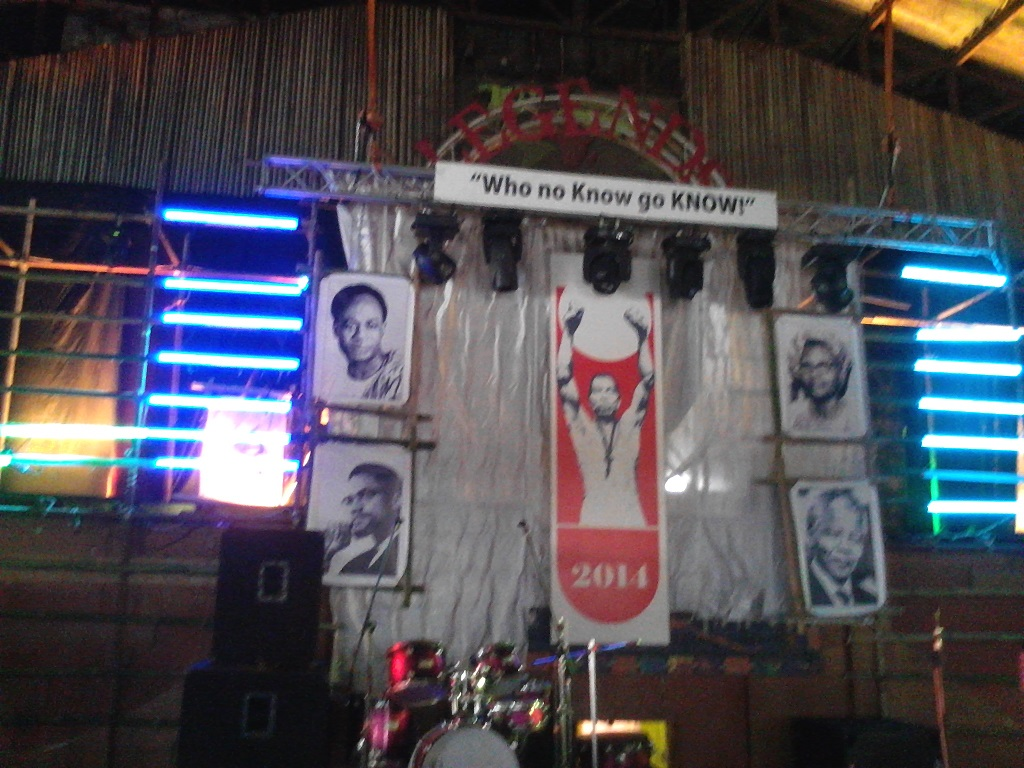 The Felabration2014 Stage