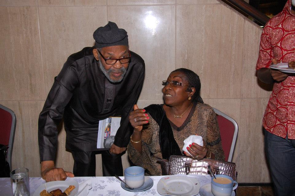 Member, Chief Frank Okonta and Trustee of MUSON, Mrs Francesca Emanuel