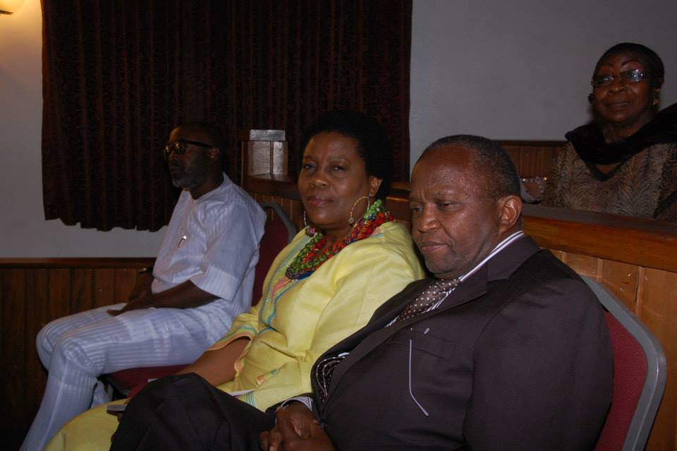 South African Consul General and his wife