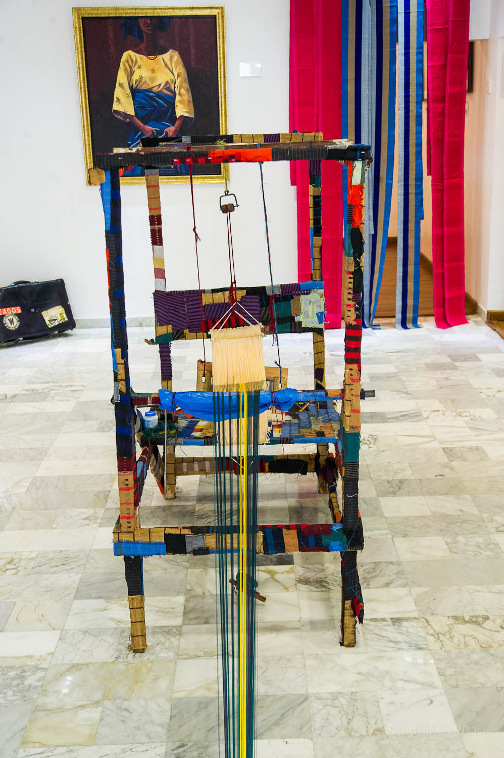 A Traditional Weaving loom