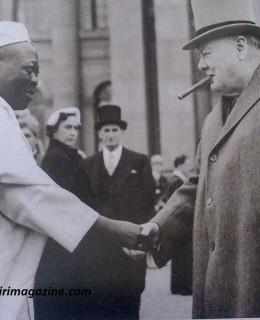 Ooni with Winston Churchill