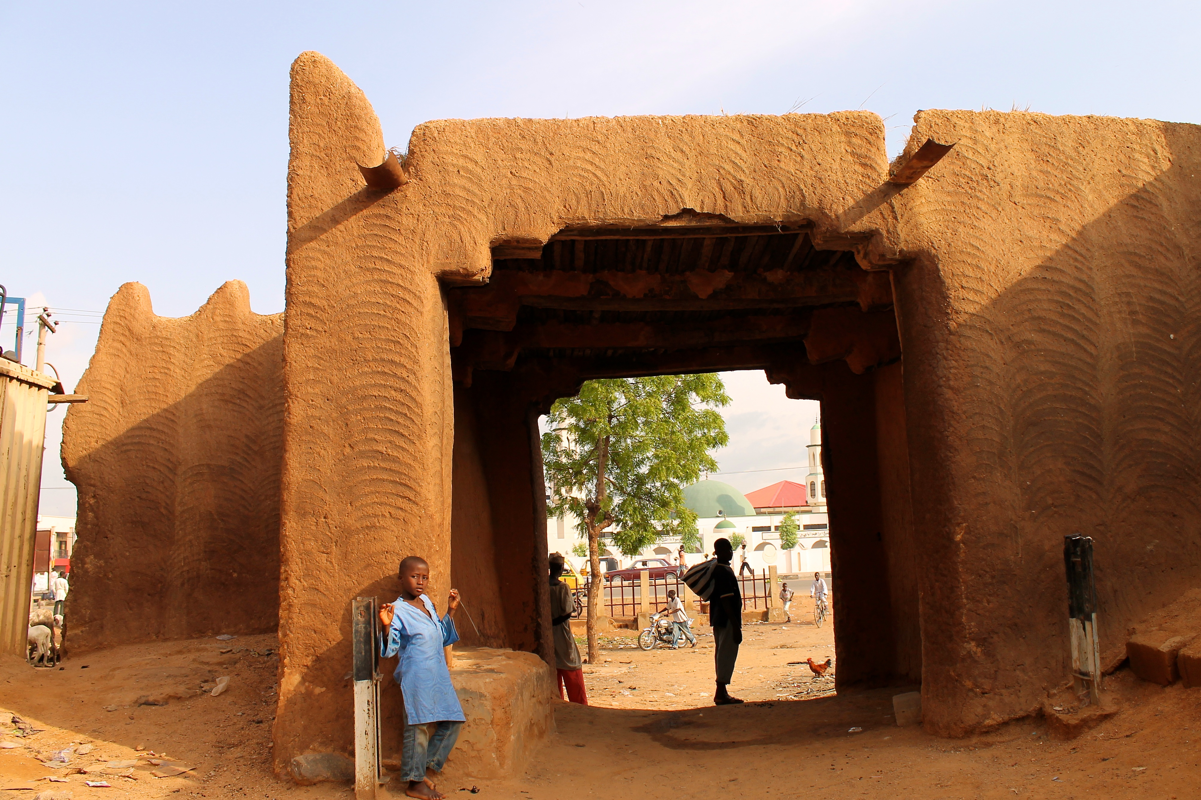 "One of the ""Kofar's"" of the Wall of Kano. Kofar means Gate in Hausa Language"