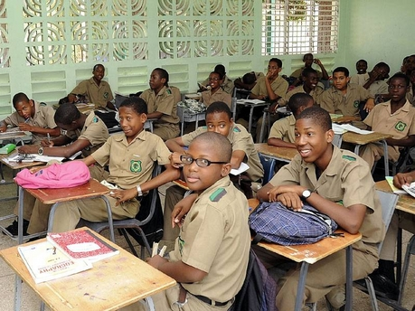 Students in their Classroom