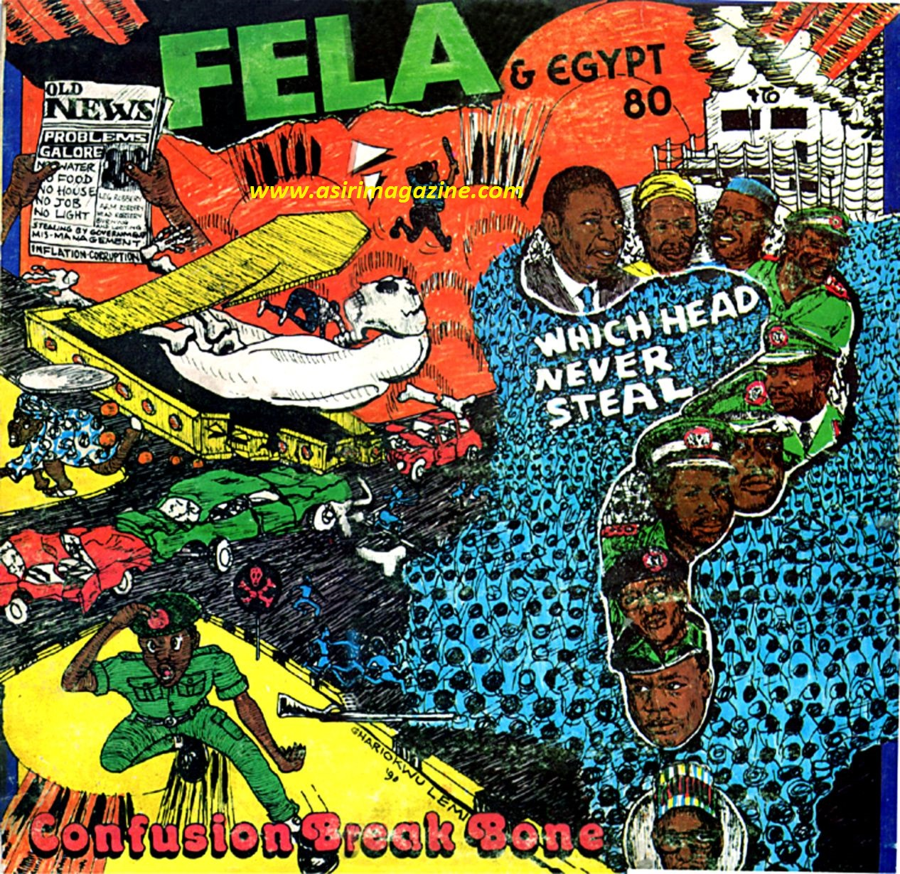 FELA KUTI - CONFUSION BREAK BONE