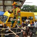 Masquerade in Lagos