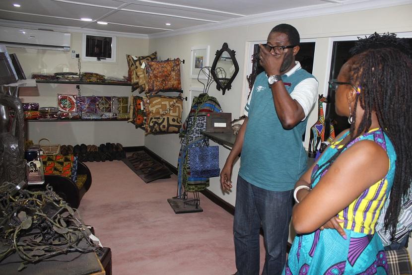 Mr Femi Odugbemi and Ms Yebovi
