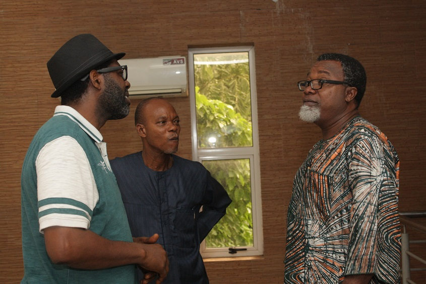 Great FilmMakers,Femi Odugbemi,Deji Adesanya and Mahmood Ali Balogun
