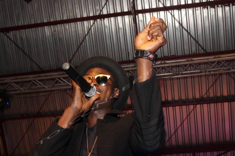 Sound Sultan on stage