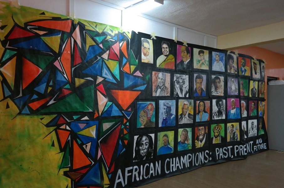 Africa's Heroes Art