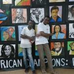 Mural in Lagos