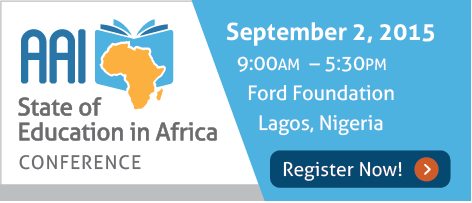 AAI's 2nd Annual State of Education in Africa Conference