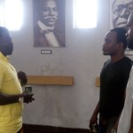 Brymo Visits Freedom Park Museum