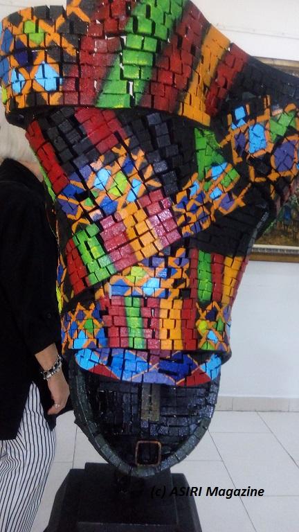PHOTOS: Infinite Treasures Art Exhibition Opens at Terra Kulture Lagos