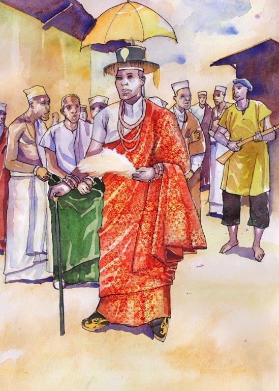 The King & The Colony' written by Olasupo Shasore, SAN.