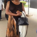 Sandra Izsadore Arrives In Nigeria Ahead of Felabration 2015