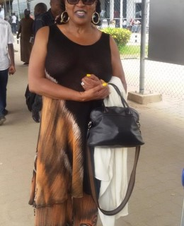 Sandra Izsadore Arrives In Nigeria Ahead of Felabration 2015