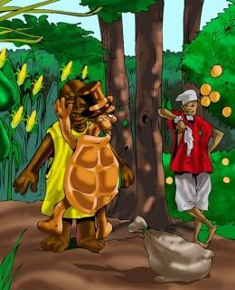 Ìjàpá àti Babaláwo Ìlú Àjété