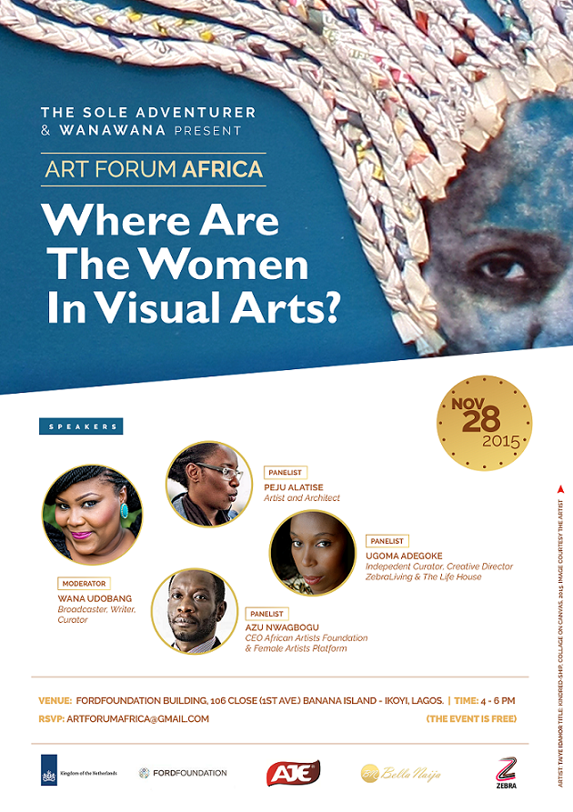 """Art Forum Africa Presents """"Where Are The Women In Visual Arts""""?"""