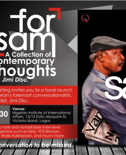 "Book Alert! Quramo Publishing Presents ""For Sam"" By Jimi Disu"
