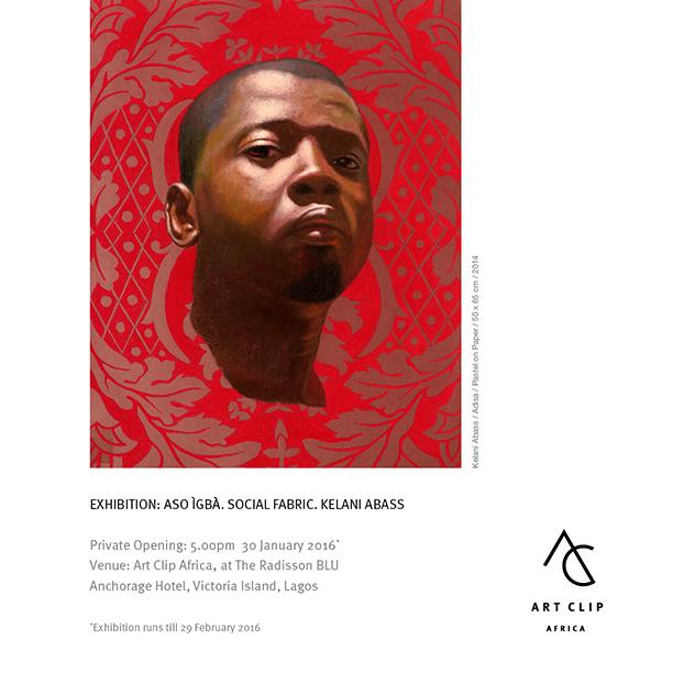 Art Clip Africa Presents Kelani Abass  'Aso Agba' Social Fabric Art Exhibition in Lagos