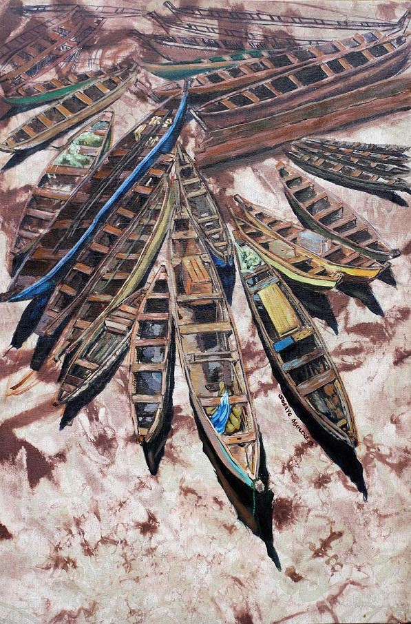 Meet the Artist: The Art and Act of Abolore Sobayo