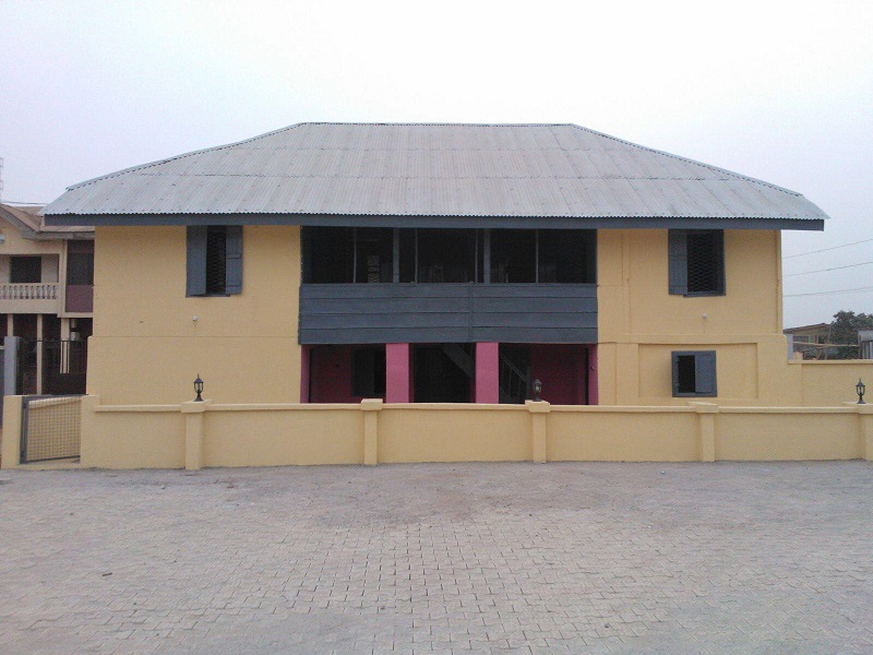 Total Consults Rehabilitates Nigeria's Historic Second Storey Building