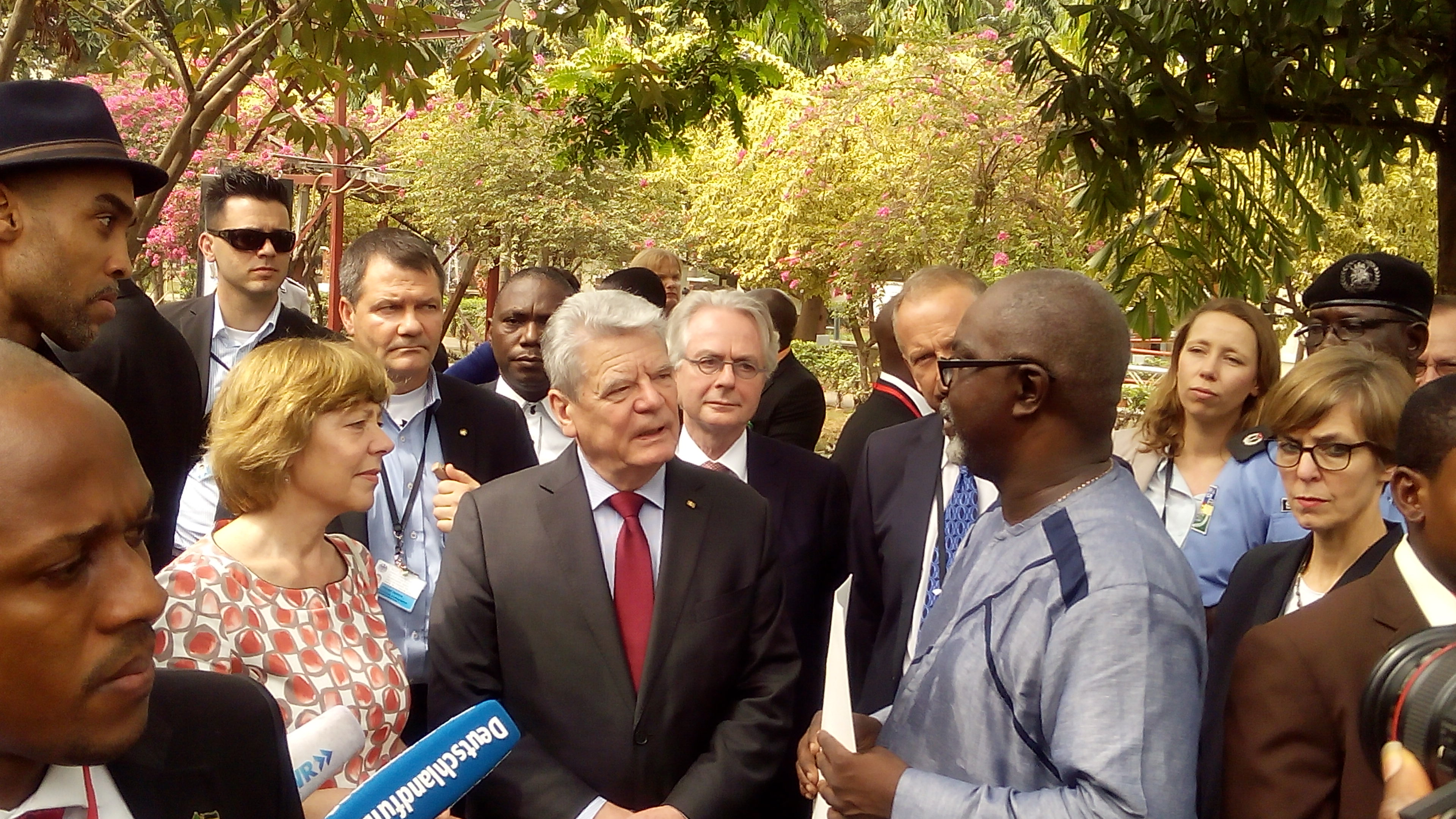 German President Pays Visit to Wole Soyinka at Freedom Park Lagos