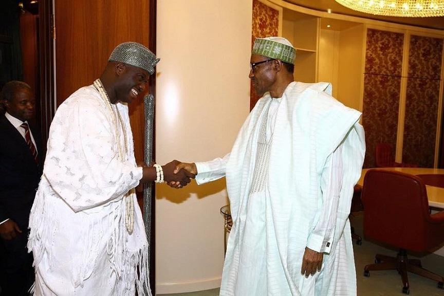 Ooni of Ife Visits President Buhari