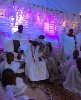 Oba Ogunwusi and Olori Wuraola Thanksgiving Ceremony at Ife