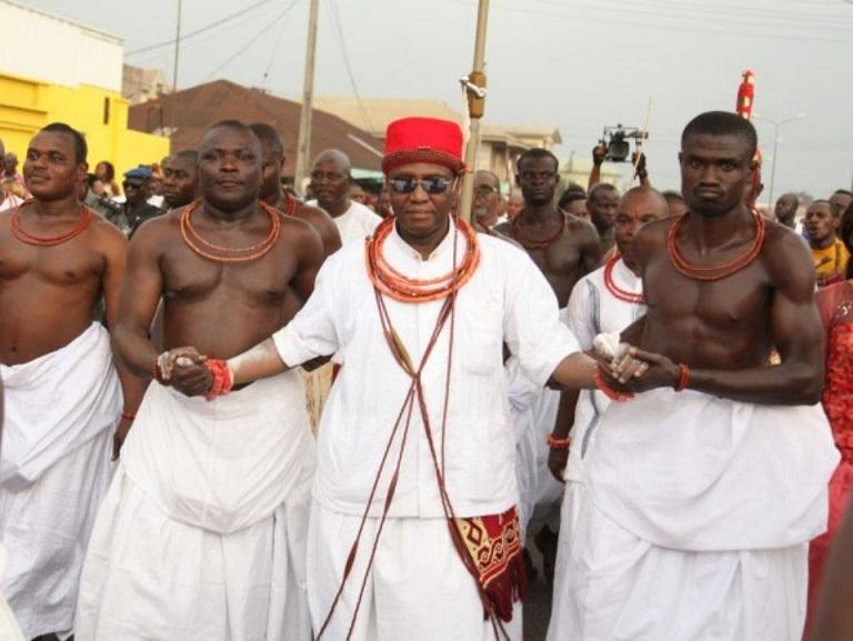 Crown Prince of Benin Installed as Edaiken of Uselu - ASIRI