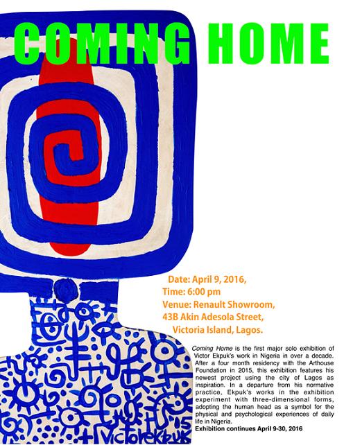 Victor Ekpuk is 'Coming Home'