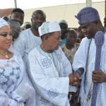 Alaafin,wife and Ooni