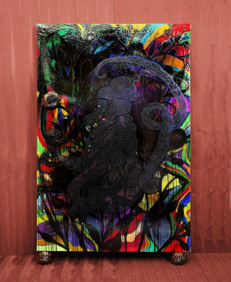Chris Ofili and the Big Bang Art. Part 2