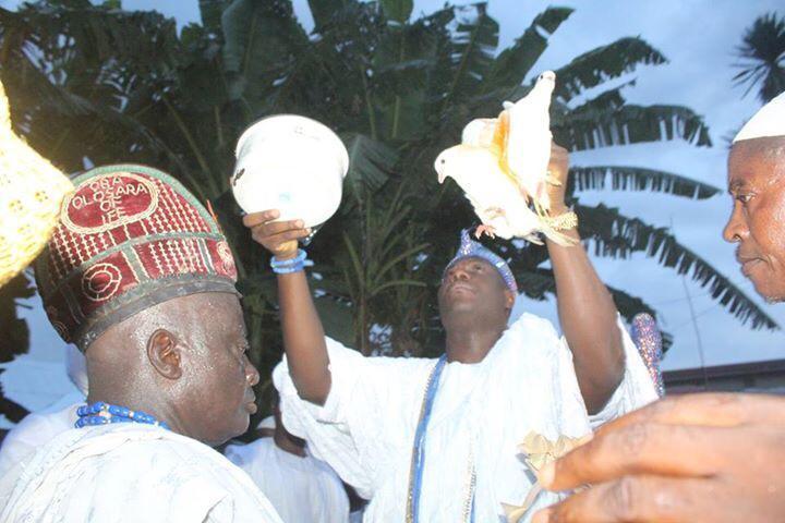 Ooni of ife Celebrates Osara