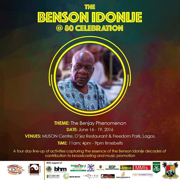Celebrating Benson Idonije at 80:The Benjay Phenomenon