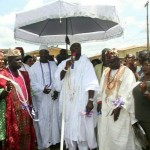 Ooni Unveils 'Olokun' Housing Estate in ile-ife