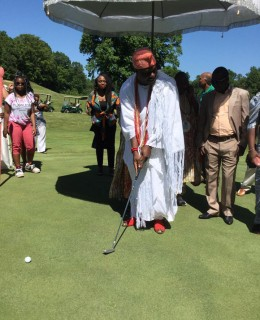 Ooni woos Investors for his Tourism Agenda as he Visits Marlton Gulf Club