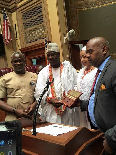 His Imperial Majesty Ooni Adeyeye Enitan Ogunwusi Kicks off US Tour
